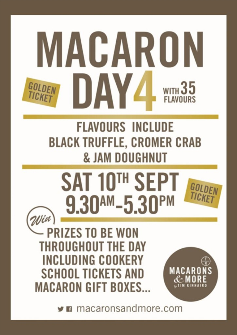 Macaron Day Poster 2016